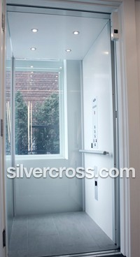 Home Elevators | Observation Glass Panels | Silver Cross