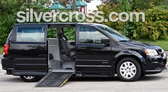 Dodge Side Entry Short Floor Converted Minivan Savaria | Silver Cross