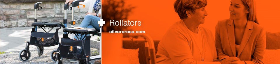 Rollators Banner Silver Cross