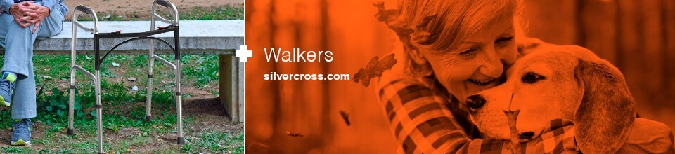 Silver Cross walkers banner